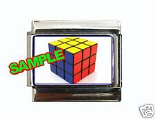Rubik's Cube Custom Italian Charm Game, neat! Rubix