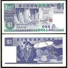 SINGAPORE 1 Dollar 1987 UNC P 18 a
