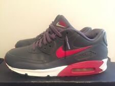 2012 Mens Nike Air Max 90 Essential Dark Grey Red White Size 11 Used Rare NDS