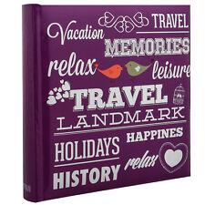 Anker Álbum de imágenes de memoria de destino de vacaciones 200 Fotos Con Memo área de la escritura