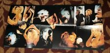 KIM WILDE 1988 ERA DOUBLE SIDED POSTER GREAT IMAGES AND PRINTED SIGNATURE