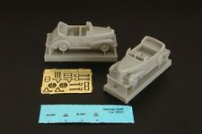Brengun BRS144039 1/144 Resin Kit WW.2 German Staff Car Cabrio (2 pcs)