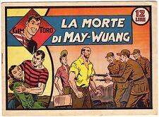 fumetto GIM TORO SERIE ROSA ORIGINALE ANNO 1948 N. 26