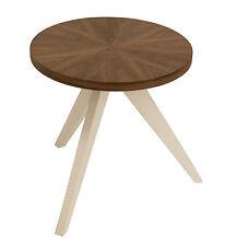Beistelltisch Tablet aus Holz Wohnzimmertisch Tisch Couchtisch Nußbaumfurnier