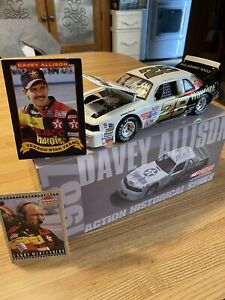 Davey Allison  1987 Thunderbird  Nascar Diecast 1/24  Historical  AUTOGRAPHED