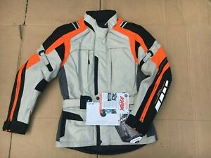 """Akito Track Mens Textile Touring Waterproof Motorcycle Jacket UK 36"""" Chest (C56)"""