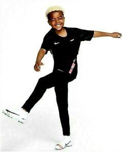 Nike CR7 Ronaldo Mercurial Boys Junior Football Training T Shirt Top Black Multi