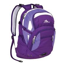 High Sierra Scrimmage Nylon Backpack Purple Laptop Compartments Light weight New