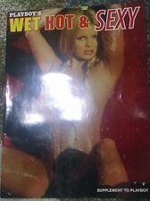 Playboy 2006 Wet Hot & Sexy Supplement Adult Magazine Sha Ross