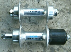 NOS Vintage Sachs New Success QR 7 Speed Bicycle Front & Rear Hub Set 32 Hole