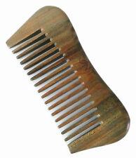UK Seller! Handcraft Green Sandalwood Sandal Wood M Shape Comb Gift 12.2 cm