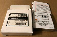 SHURJOINT SJTAPE Grooved Pipe Go/No Go Diameter Tape New In Box