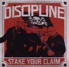 DISCIPLINE - STAKE YOUR CLAIM Klappcover LP