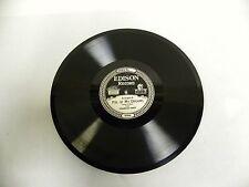 Vintage Antique Edison Diamond Disc Phonograph Record No. 51349-R & L (A4)