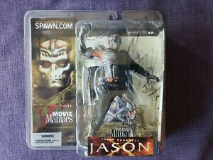 RARE McFarlane Movie Maniacs Jason X - Friday the 13th signed by kane Hodder