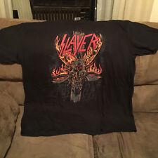 Slayer Burning Pentagram Halloween Shirt 3Xl Anthrax Metallica Venom Diamond