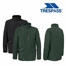 Trespass Argyle Mens Casual Padded Quilted and Lined Jacket Warm Winter Coat
