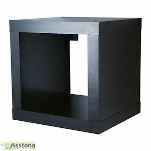 IKEA KALLAX Regal in schwarzbaun  42x42cm Einsatz Cube Bücherregal Aufbewahrun