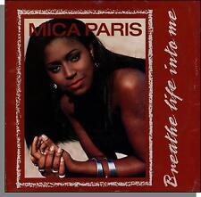 "Mica Paris - Breathe Life Into Me + Same Feeling - 1989 7"" 45 RPM Single!"