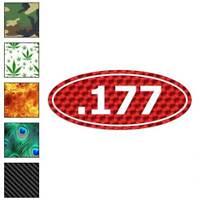 Ammo .177 Pellet Gun Decal Sticker Choose Pattern + Size #3688