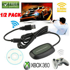 For Microsoft Xbox 360 USB Wireless Receiver Game Controller Adapter Windows PC