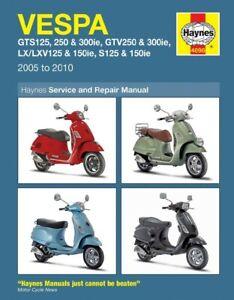 Vespa GTS 300 Super Japan 2008-2010 Manuals - Haynes