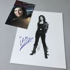 KATIE MELUA In-person 2017 signed Foto 20 x 25 Autogramm + Eigen-Foto