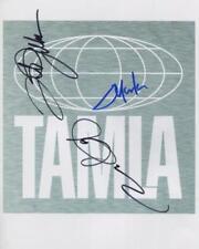 Jermaine Tito & Marlon Jackson Signed Photo Genuine In Person The Jacksons + COA
