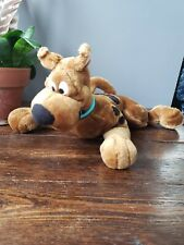 "Scooby Doo Laying Down 11"" Cartoon Network Dog Bean Filled stuffed animal"