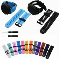 Bracelet en silicone Bande de montre pour Garmin Fenix 3/Fenix 3 HR Sapphire