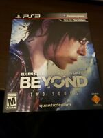 Beyond: Two Souls -- Special Edition (Sony PlayStation 3, 2013) Complete