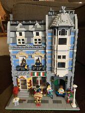 Lego Green Grocer & Pizza Shop CUSTOM 10185 Comparable Creator Modular