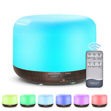 Aroma Diffuser Ultrasonic Air Humidifier Purifier Mist Deffuser Remote Control