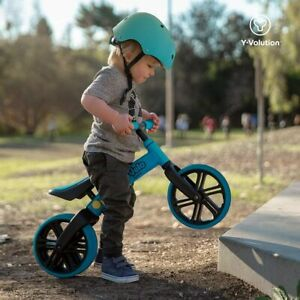 Yvolution Y Velo Junior Toddler Bike No-Pedal BalanceBike Blue