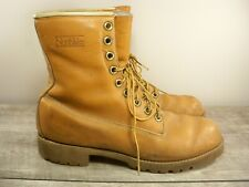 New listing Vtg Northlake Men's Leather Hunting Work Workwear Sport Soft Toe Boots Size 12