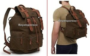 "Genuine Royal Enfield ""PEGASUS"" Backpack Olive Green"