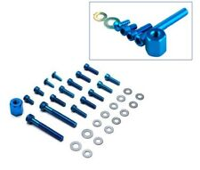 Kit de Vis Pour Carrosserie Couleur: Bleu Pour MBK Booster 50 -> 2003
