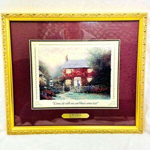 Thomas Kinkade Collectors' Society Pye Corner Cottage  Framed w/Matte