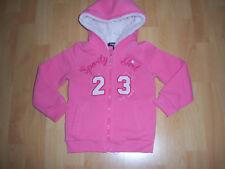 Veste de sport rose fille 4 ANS à capuche