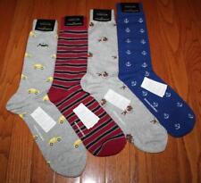 4 Pair NEW NWT Mens Banana Republic Casual Dress Socks Dogs Cars Anchors *3P