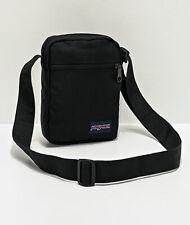 JanSport Weekender Black Crossbody Shoulder Sling Messenger Pouch Bag