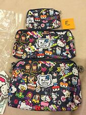"NWT Ju Ju Be Tokidoki Hello Kitty Dream World Be Set Complete With Straps ""E"""