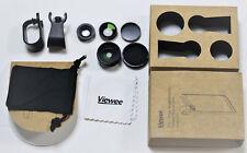 3IN1  Fischauge Linse 180° Fisheye + 0.65xWeitwinkel + 10x Macro Lens