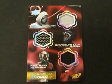 2018 UD Ant-Man And The Wasp Ghost Triple Costume Relic QTM-1 SSP PHX
