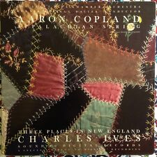 Davies Copland Appalachian Spring Ives Three Places in New England LP Sound 80