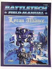 FASA Battletech BATTLETECH Lot of 2: 1720: Lyran Alliance & 1724: Inner Sphere