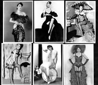 Gypsy Rose Lee Postcard Set Pin-Up Girl Nylon Stockings Erotic Burlesque Strip