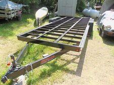 tiny house trailer frame 20 ft. tandem axle 6000lb. axles