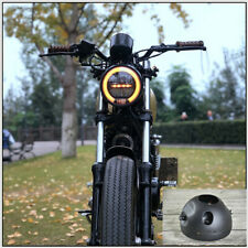 "6.8"" Vintage Motorcycle LED Headlamp Distance Light Refit Motorcycle Headlight"