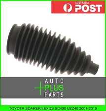 Fits TOYOTA SOARER/LEXUS SC430 UZZ40 2001-2010 - Steering Rack End Boot Rubber